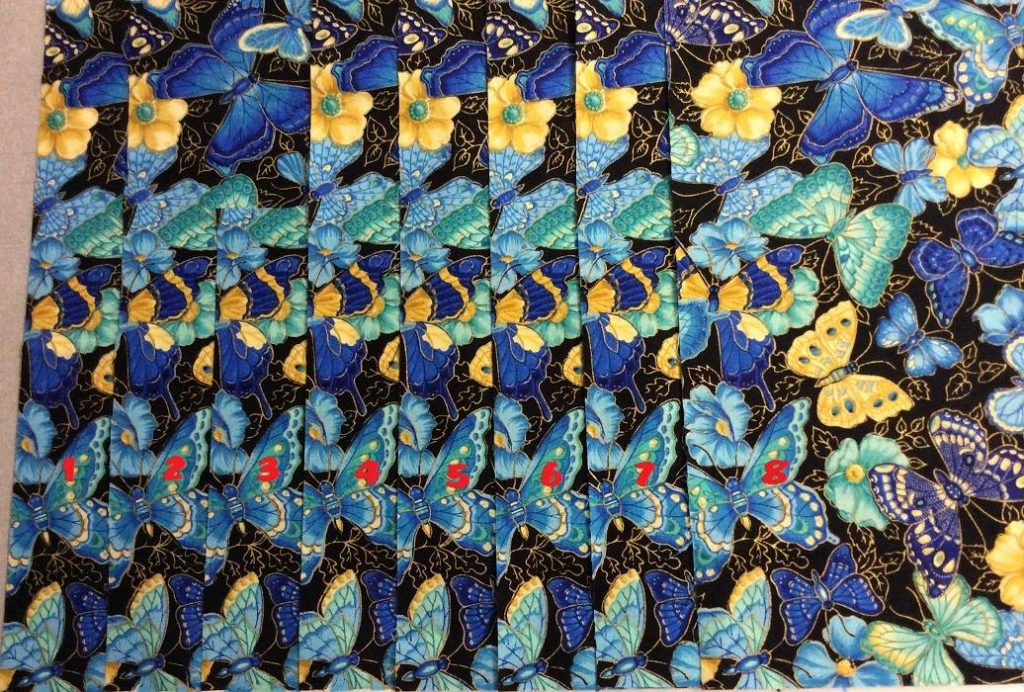 Butterfly-fabric-layers