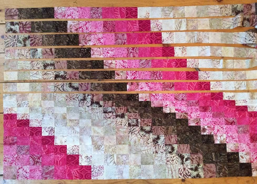 Laying-out-Bargello-Slices